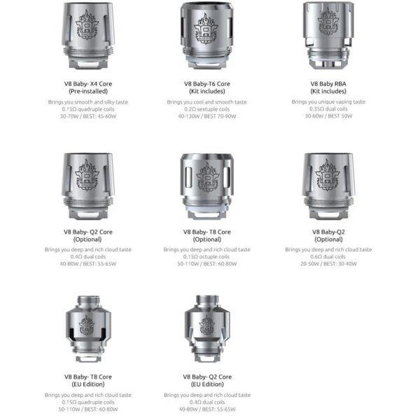 TFV8 Coil Choices