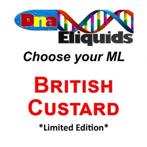 *Limited Edition* British Custard Concentrate  60ml/120ml